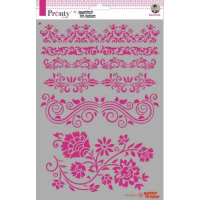 Pronty Crafts Stencil - Barok Borders