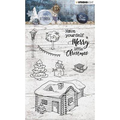 StudioLight Snowy Afternoon Clear Stamps - Nr. 399