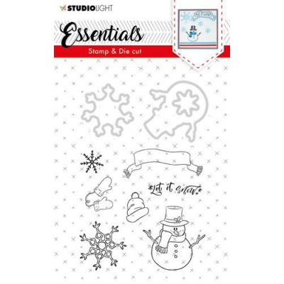 StudioLight Clear Stamps and Die Cuts - Essentials Christmas Nr. 27