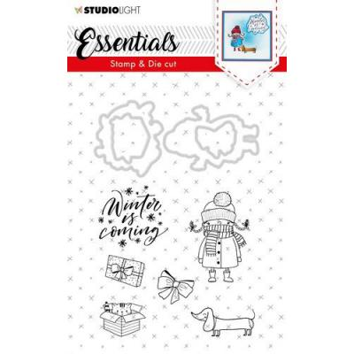 Studio Light Clear Stamps and Die Cut - Essentials Christmas Nr. 28