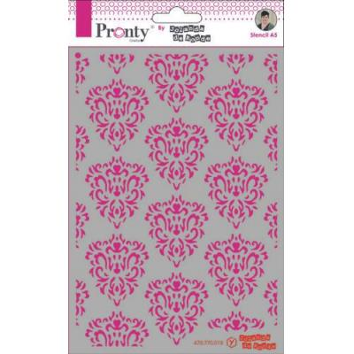 Pronty Crafts Stencil - Barok pattern