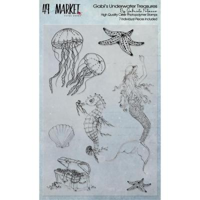 49 And Market Clear Stamps - Gabi's Underwater Adventures