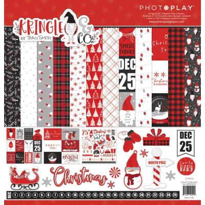 PhotoPlay Kringle & Co Designpapier - Collection Pack