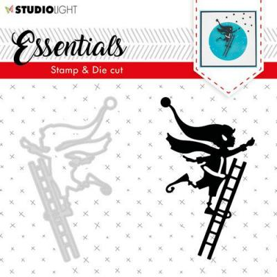 StudioLight Clear Stamp and Die Essentials - Silhouettes Nr 35