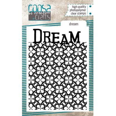 COOSA Crafts Clear Stamp - Dream