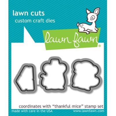 Lawn Fawn Lawn Cuts - Thankful Mice
