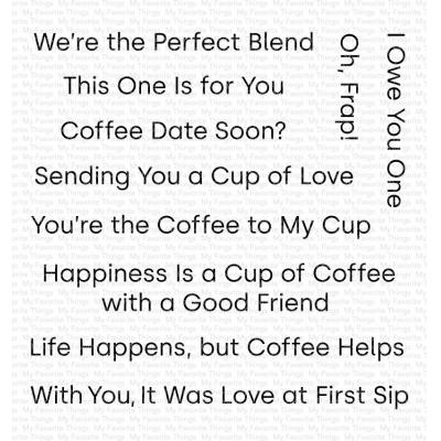 My Favorite Things Clear Stamps - Cup of Love
