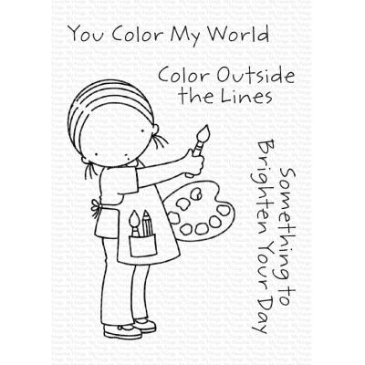 My Favorite Things Clear Stamps - You Color My World