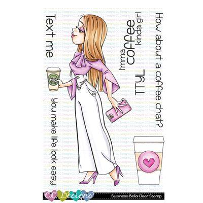 C.C. Design Clear Stamps - Business Bella