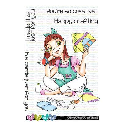 C.C. Design Clear Stamps - Crafty Chrissy
