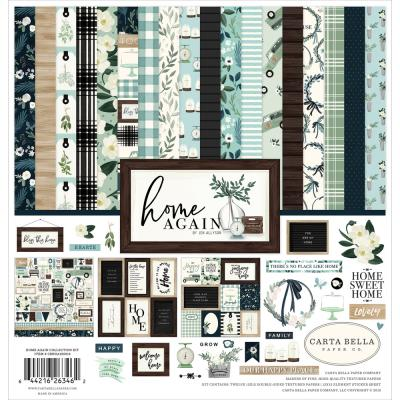Carta Bella Home Again Designpapier - Collektion Kit