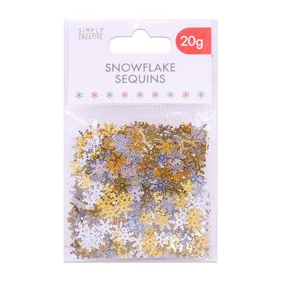Simply Creative Sequins - Snowflak