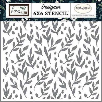 Carta Bella Home Again Stencil - Gather Branches