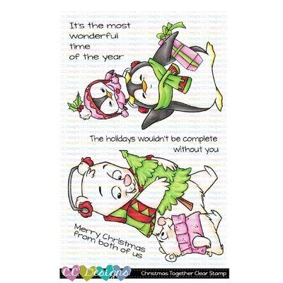 C.C. Designs Clear Stamps - Christmas Together