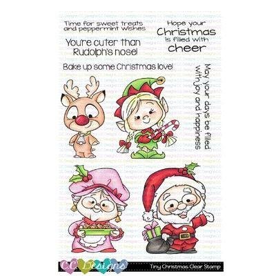 C.C. Designs Clear Stamps - Tiny Christmas