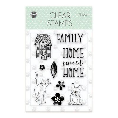 Piatek13 Clear Stamps - We Are Family-01
