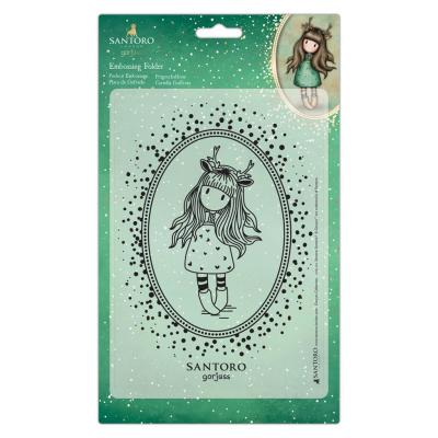 Santoro Gorjuss Embossing Folder - Doe Eyed