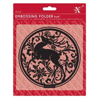 Xcut Embossing Folder - Arts & Craft Stag