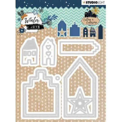 StudioLight Winter Joys Embossing Die - Nr 228