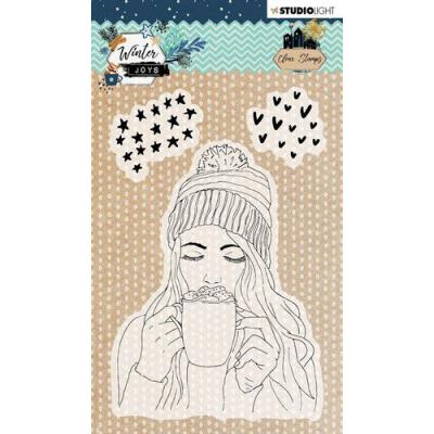 StudioLight Winter Joys Clear Stamps - nr 420
