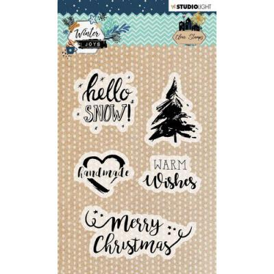 StudioLight Winter Joys Clear Stamps - nr 418