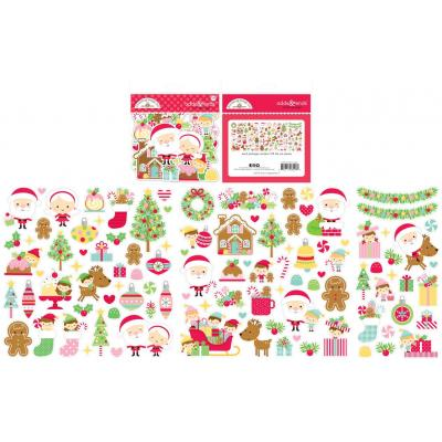 Doodlebug Christmas Magic Die Cuts - Odds & Ends