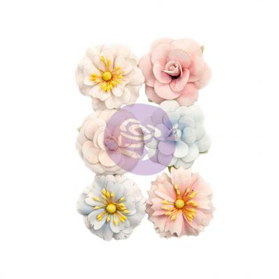 Prima Marketing Poetic Rose Flowers Embellishments - Roses For You