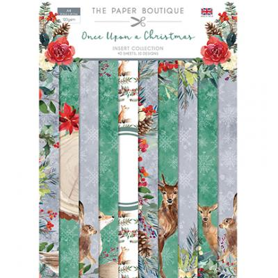 The Paper Boutique Once Upon a Christmas Designpapier - Insert Collection