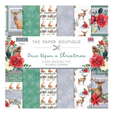The Paper Boutique Once Upon a Christmas Designpapier - Paper Pad
