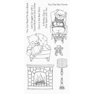 My Favorite Things Clear Stamps -  Cozy Companions
