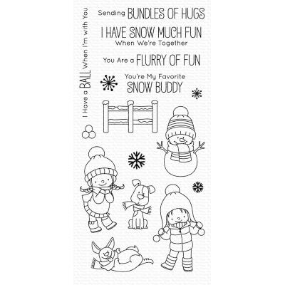 My Favorite Things Clear Stamps - Snow Buddies