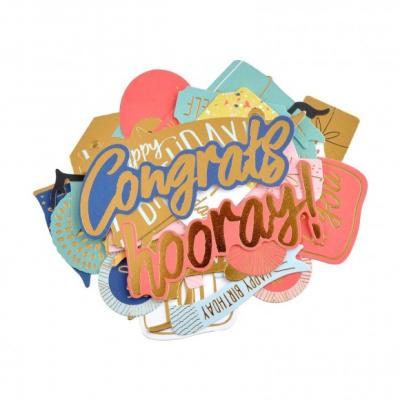 Kaisercraft Die Cuts - Oh Happy Day!