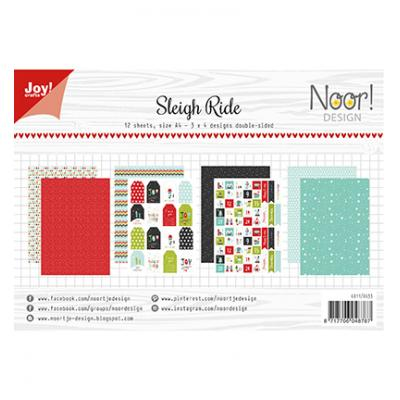 Joy!Crafts Papier Set Designpapier - Noor Sleigh Ride