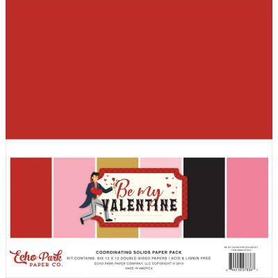 Echo Park Be My Valentine - Solids Kit
