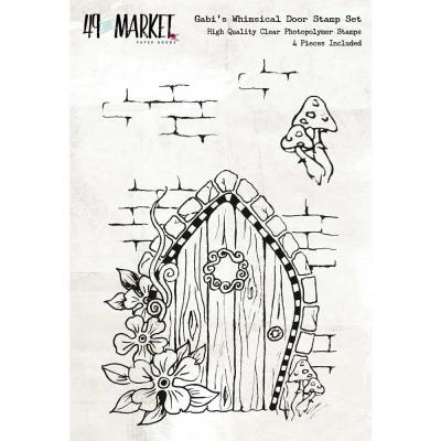 49 And Market Clear Stamps - Gabi's Whimsical Door