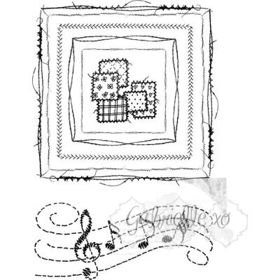 49 And Market Clear Stamps - Gabi's Square Stitch