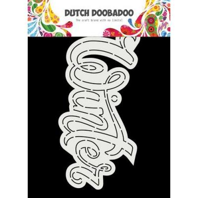 Dutch Doobadoo Card Art Schablone - Winter