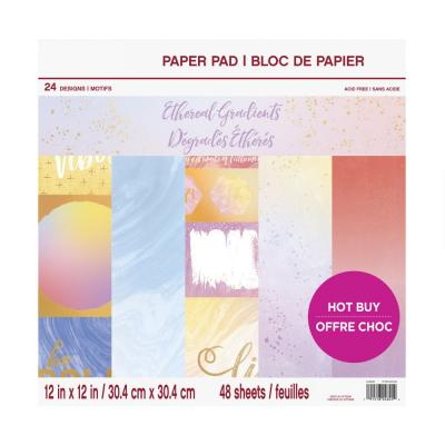 Craft Smith Ethereal Gradients Desingpapier - Paper Pad