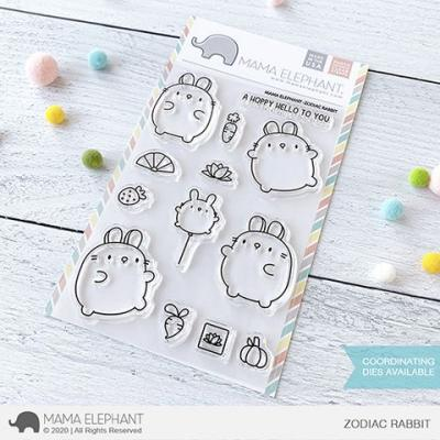 Mama Elephant Clear Stamps - Zodiac Rabbit