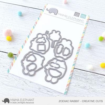 Mama Elephant Creative Cuts - Zodiac Rabbit