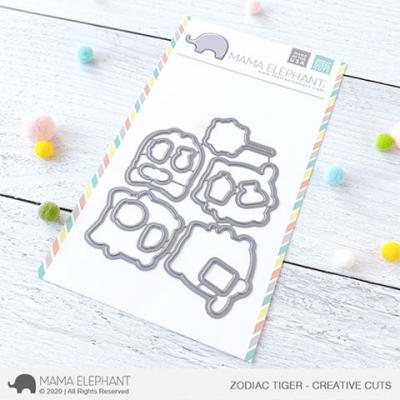 Mama Elephant Creative Cuts - Zodiac Tiger