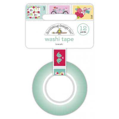 Doodlebug Love Notes Washi Tape - S.W.A.K