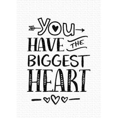 My Favorite Things Clear Stamps - You Have the Biggest Heart