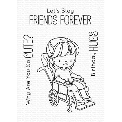 My Favorite Things Clear Stamps - Friends Forever