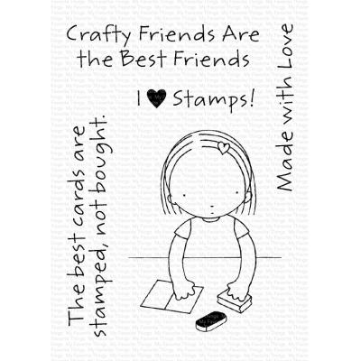 My Favorite Things Clear Stamps - Crafty Friends