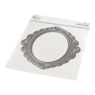 Pinkfresh Studio Essentials Die - Ornate Oval Frame
