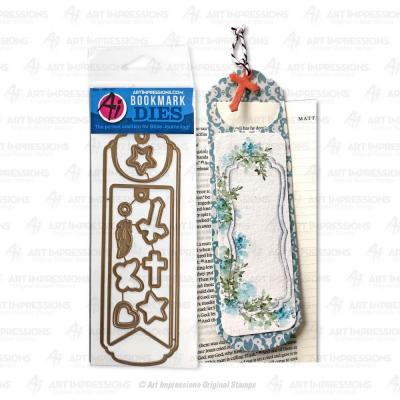 Art Impressions Bible Journaling Dies - Bookmark
