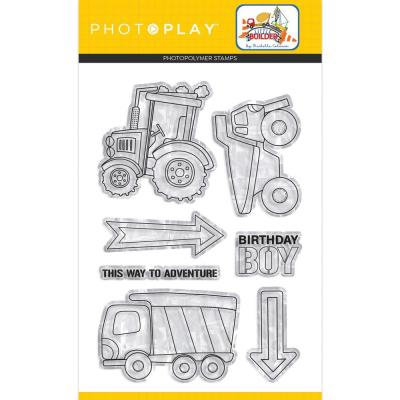 PhotoPlay Clear Stamps - Little Builder