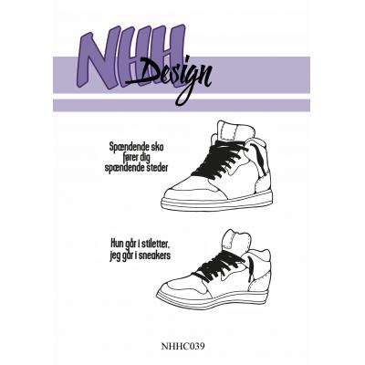 NHH Design Clear Stamps - Sneakers