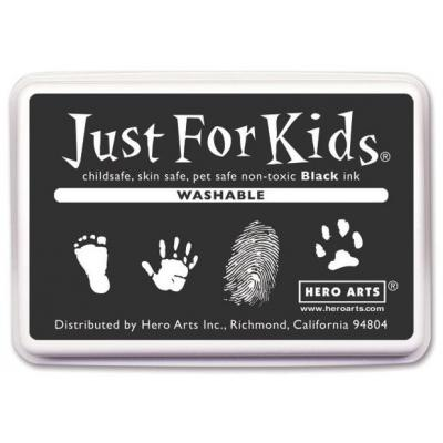Hero Arts Washable Black - Just For Kids Inkpad